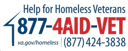 Call Center Homeless Vets logo