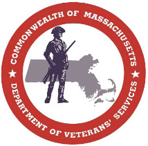 MA Dept of Vet Services logo